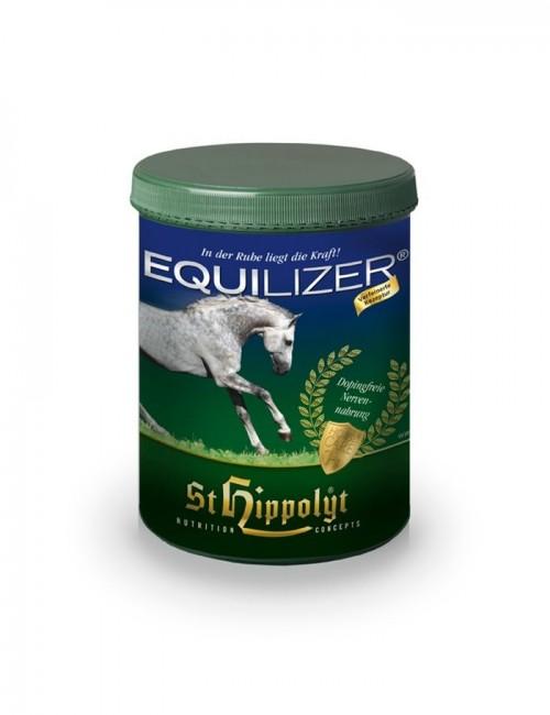 Equilizer de St HIppolyt mejora la concentración y el equilibrio del caballo sin efecto doping. Idóneo para caballos de deporte.