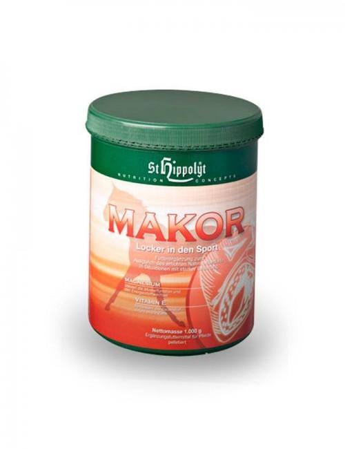 Makor de St. Hippolyt. Suplemento de magnesio y vitamina e para reducir el estress del caballo