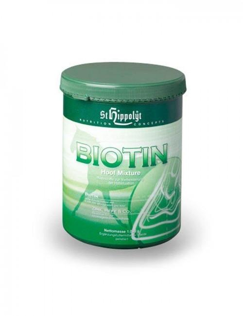 Biotin de St. Hippolyt mejora el crecimiento y la estructura del casco