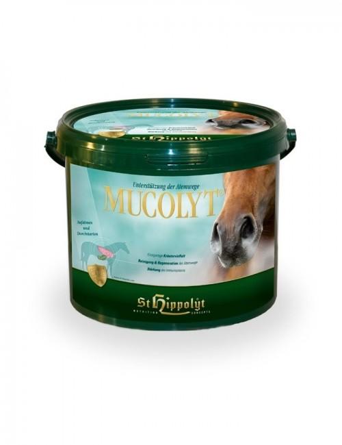 Mucolyt de St. Hippolyt mucolitico para caballos con problemas e infecciones de las vías respiratorias.