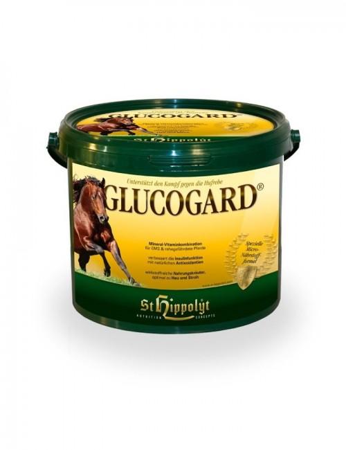 Glucogard de St Hippolyt para caballos propensos a la laminitis y cascos dañados