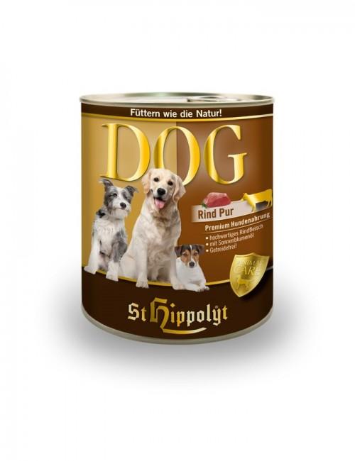 lata de carne comida perro Dog Fleish Rind de st hippolyt