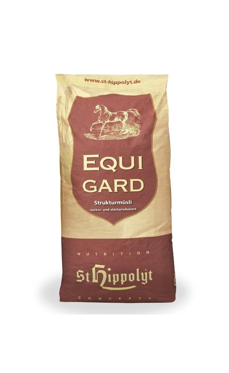 Equigard de St Hippolyt sin cereales para caballos con transtornos metabolicos
