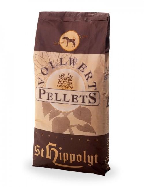 Pellet prensado en frío Vollwertpellets de St Hippolyt para caballos de todas las razas y usos