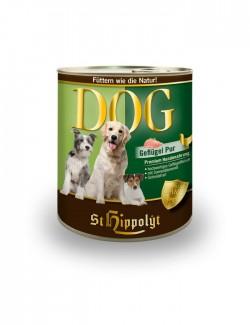 lata de carne comida perro Dog Fleish Geflugel de st hippolyt