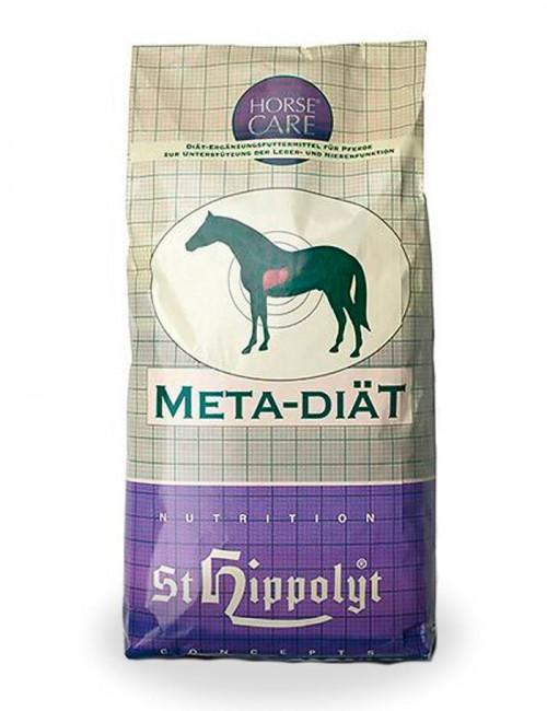 Meta-Diat de St. Hippolyt. Concentrado habitual formulado para caballos que sufren problemas de hígado o riñón.