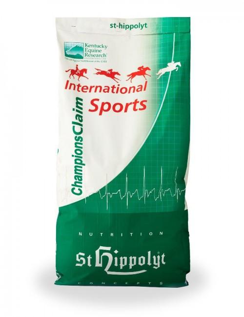 International Sports CHAMPIONS CLAIM de St Hippolyt para el rendimiento de caballos de deporte