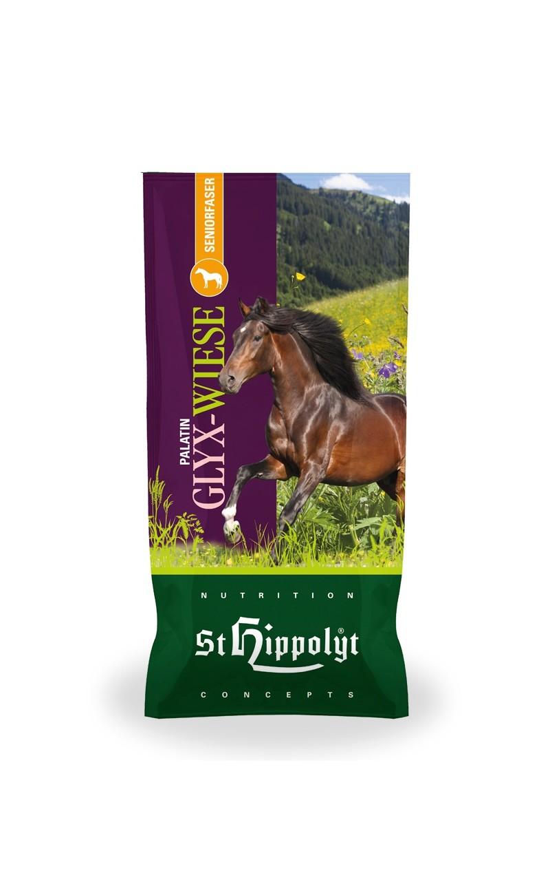 Palatin Glyx Muesli de St. Hippolyt. Fibra para caballos mayores que no pueden masticar