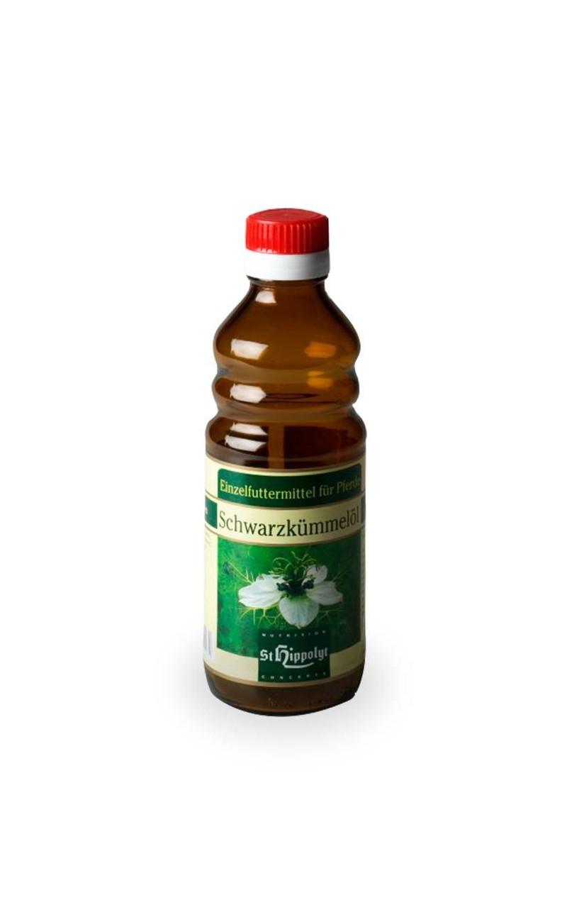 Aceite de neguilla de St Hippolyt. Aantiinflamatorio, mejora circulación y alergias del caballo.