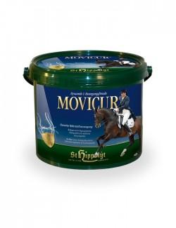 Movicur de St Hippolyt son nutrientes para caballos de deporte y mayores. Mejora la movilidad y cojeras del caballo
